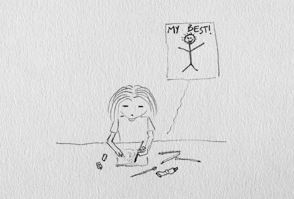 Tamina disegna