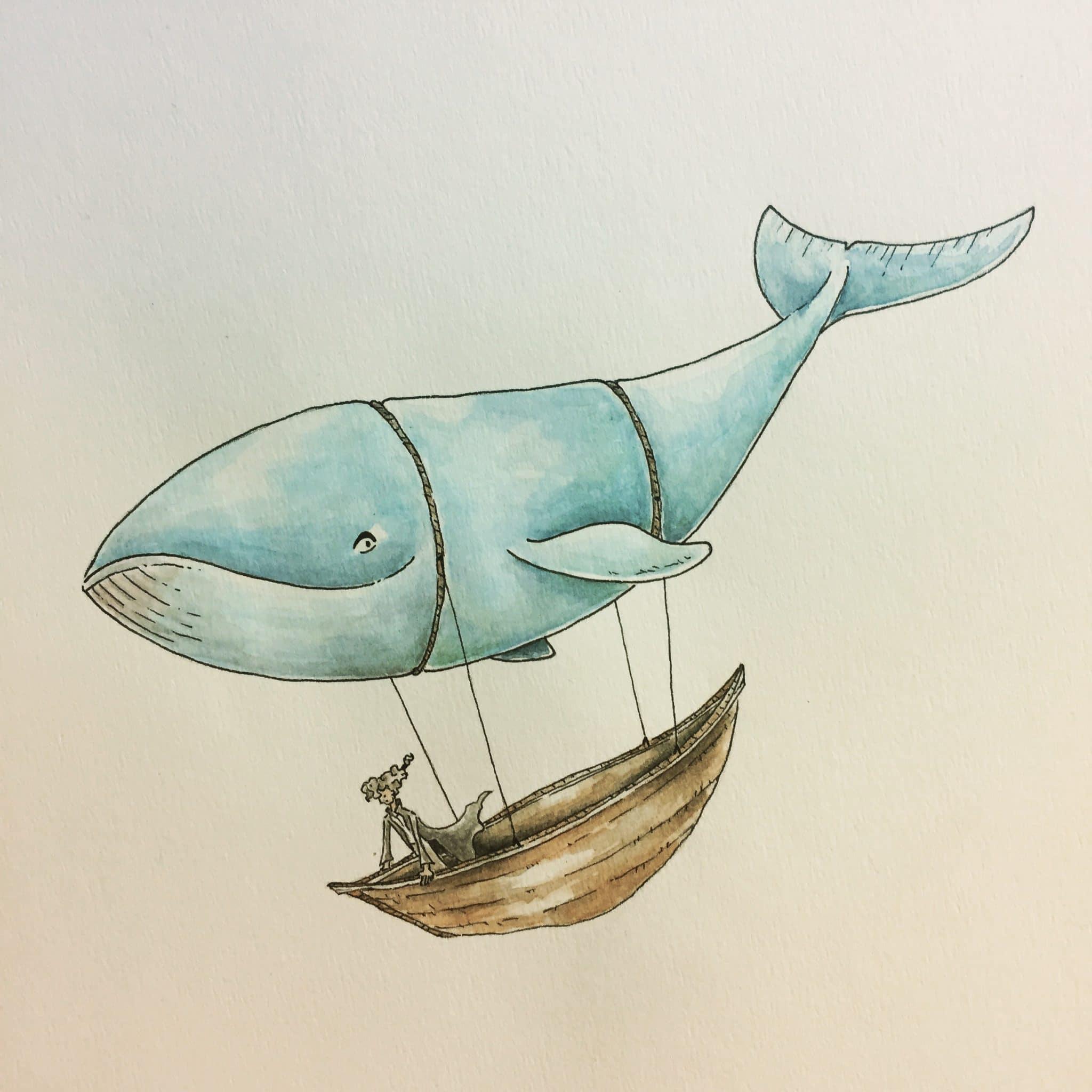 inktober2018-whale