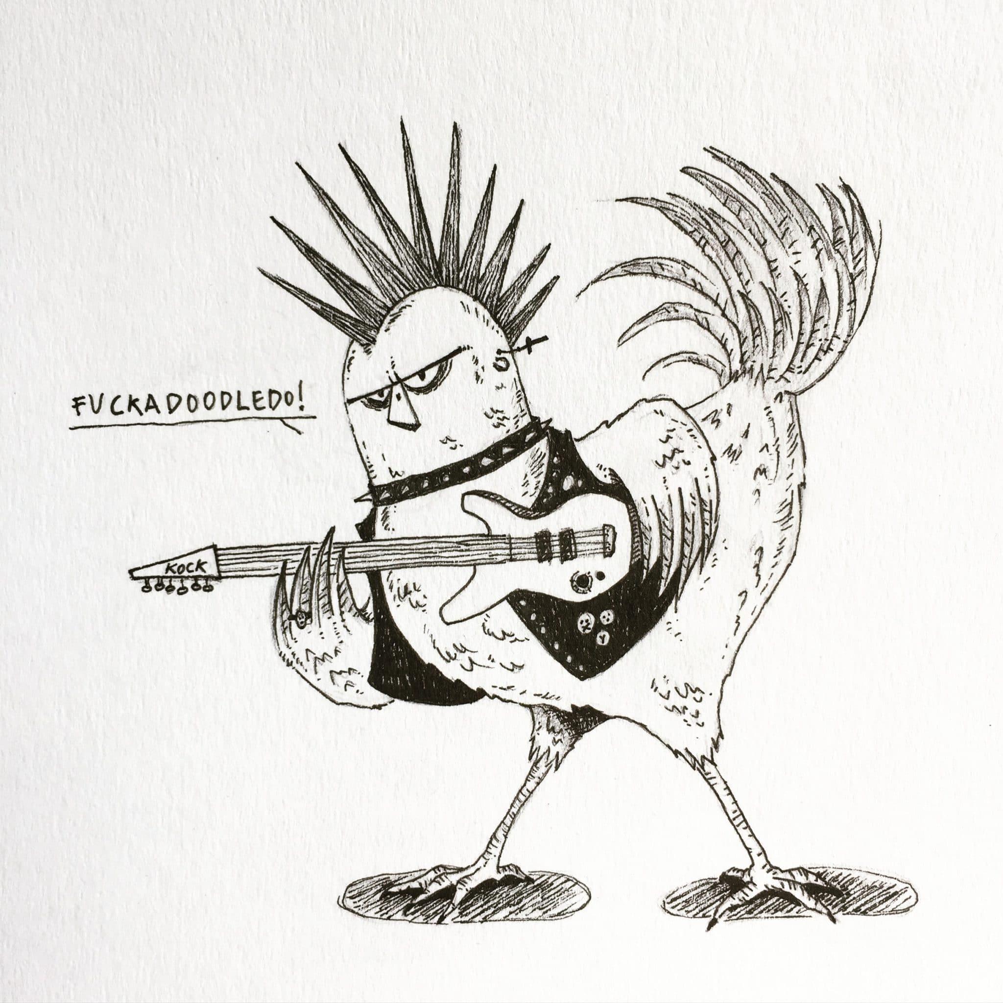 inktober2018-chicken