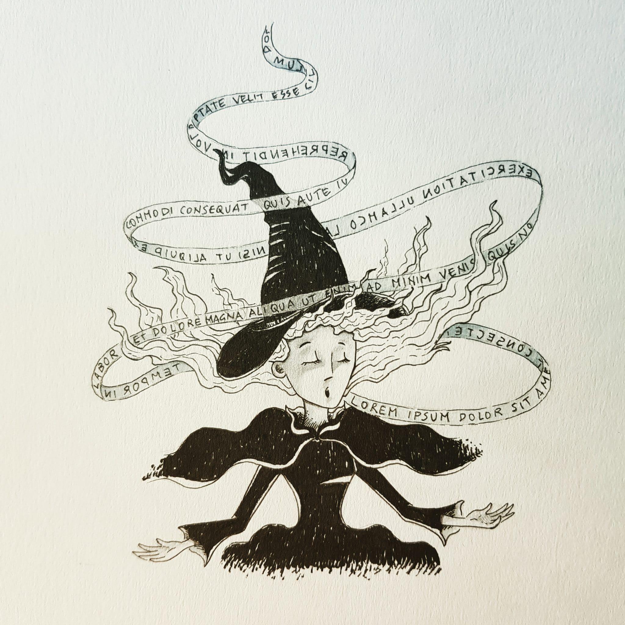 inktober2018-spell