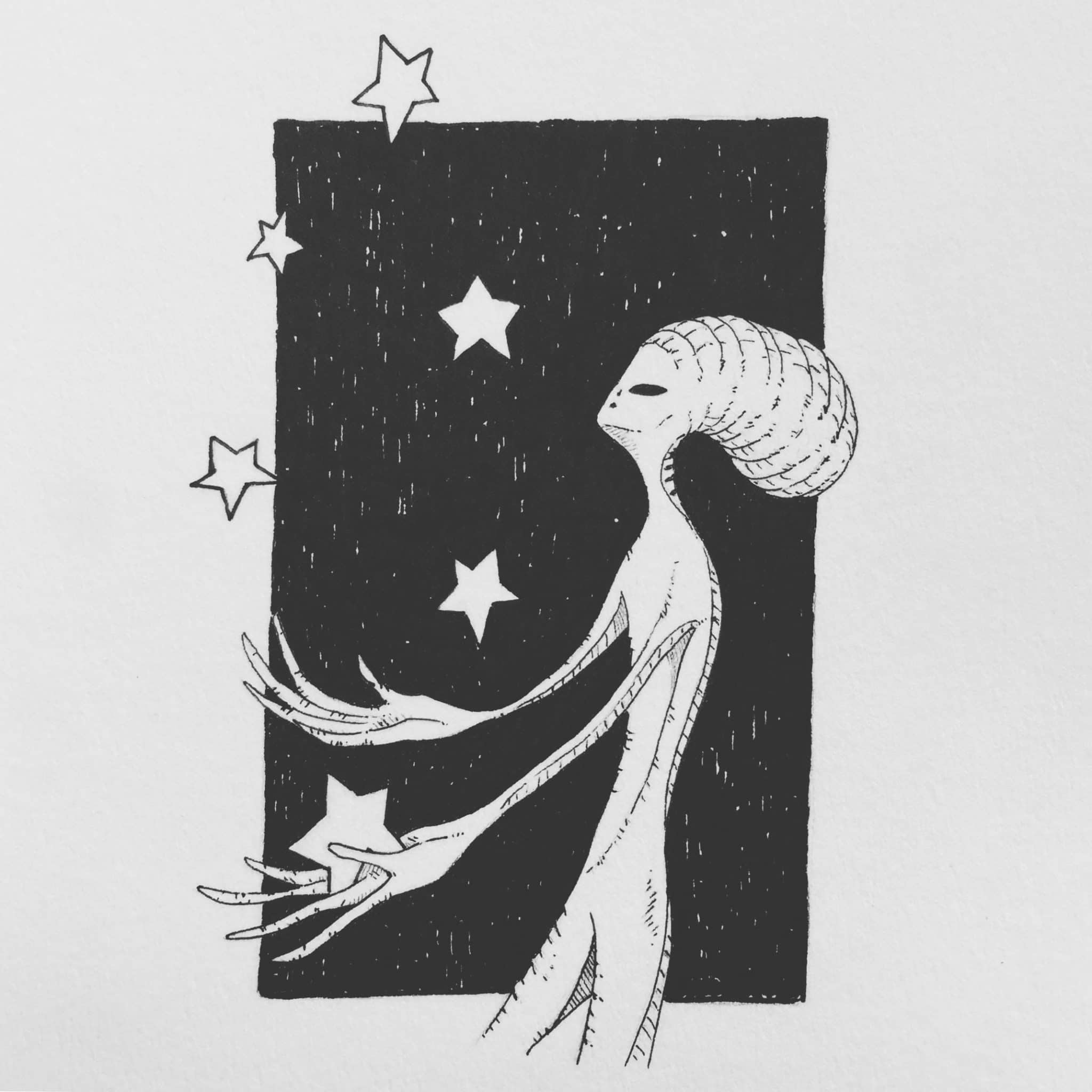 inktober2018-star