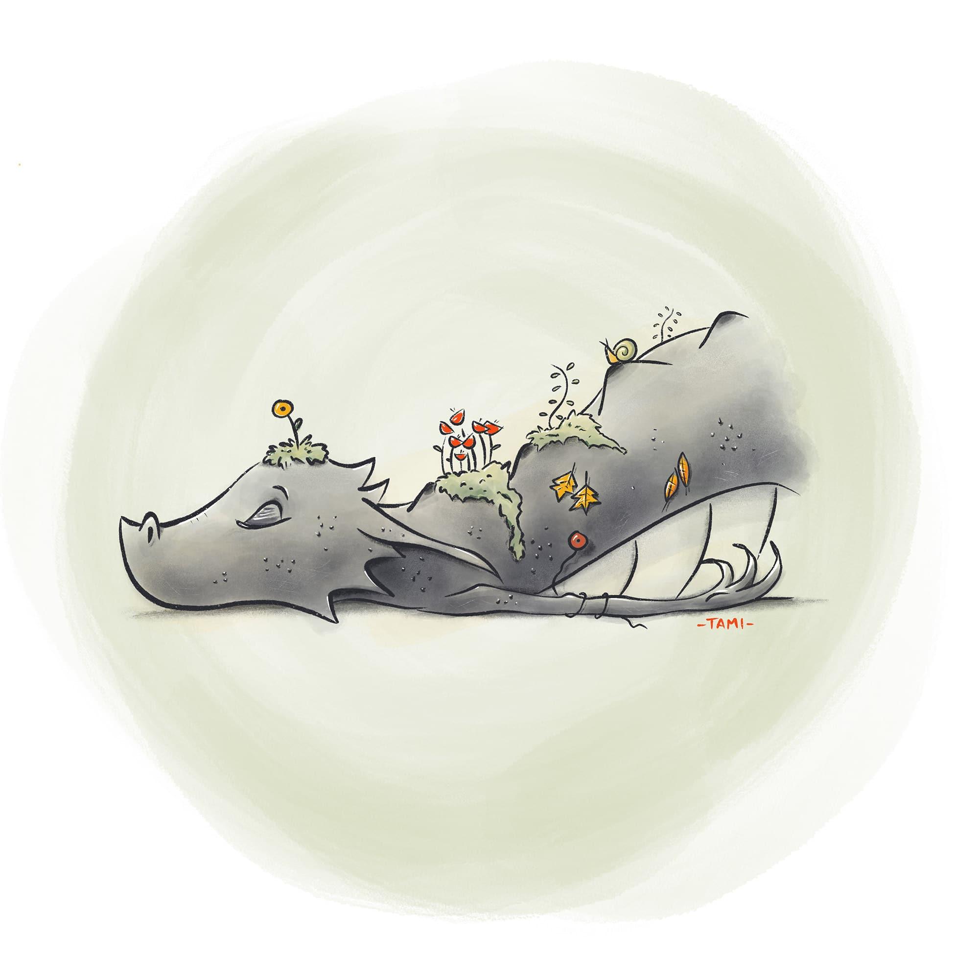 Il mantello del drago - Overgrown
