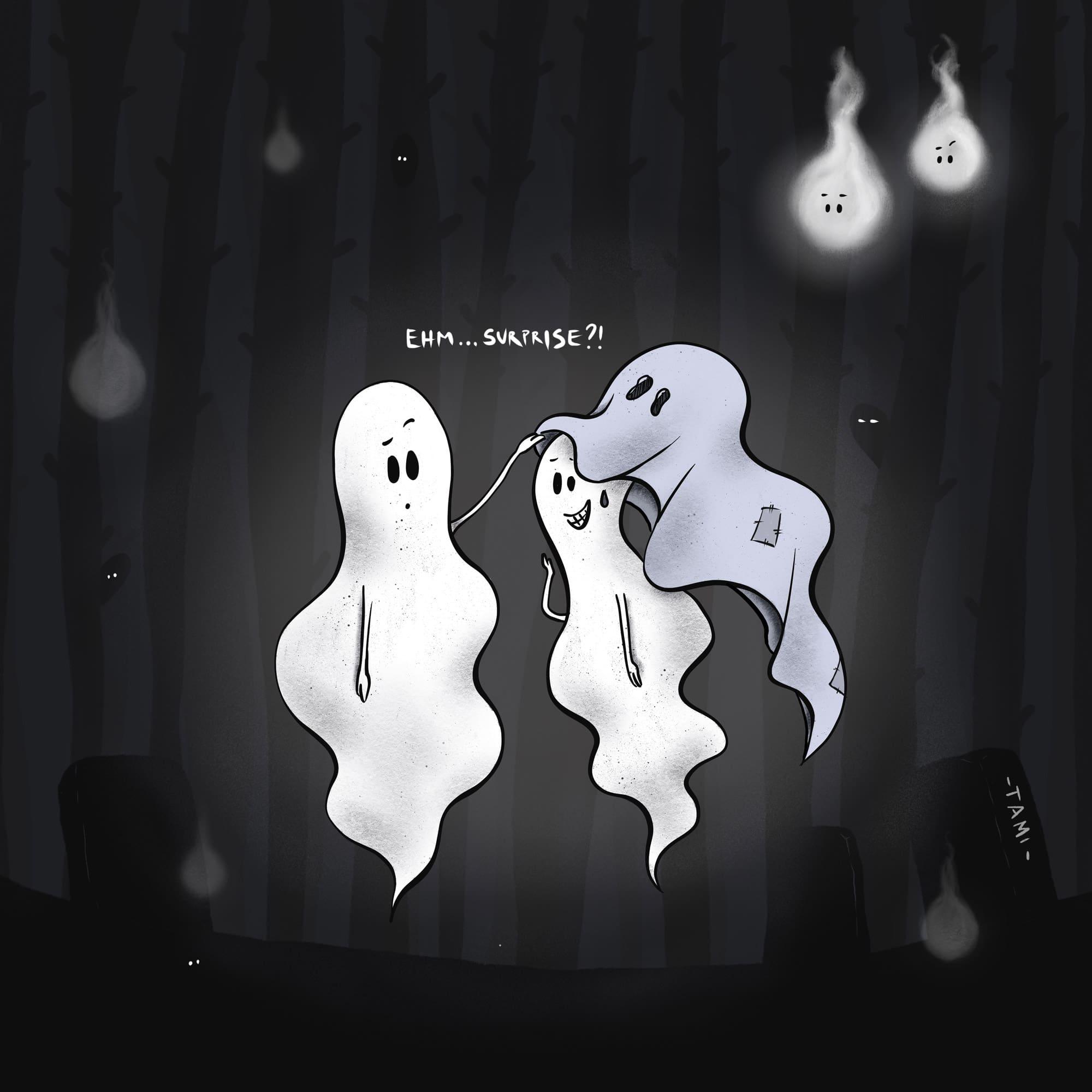 Non organizzate quell'Allouinne - ghost